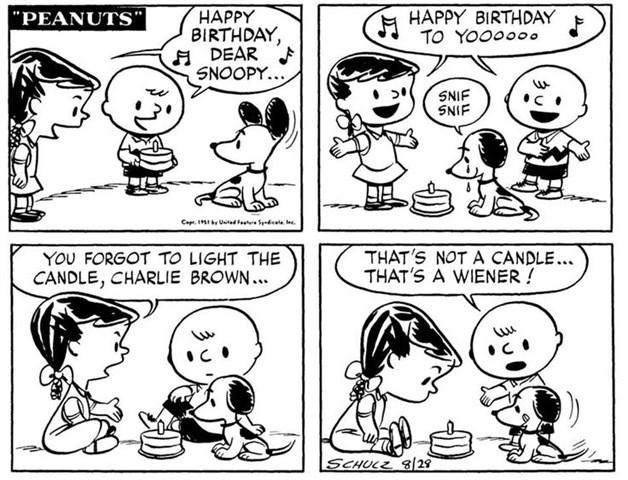 65 años de la primera publicación de Peanuts