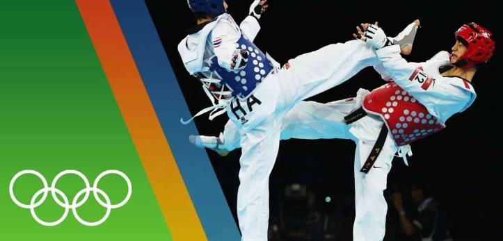 En los Juegos Olímpicos de Seúl, Corea del Sur, 1988, hizo su primera aparición olímpica como un deporte de exhibición. En este evento participaron 183 atletas (120 hombres y 63 mujeres) de 34 países diferentes en 8 diferentes divisiones de peso tanto para hombres como para mujeres.